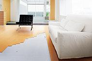 床面のふく射熱によって部屋全体をムラなく暖房し、頭寒足熱を実現します。ホコリを舞い上げず、お掃除をラクにします。(メーカー参考写真)
