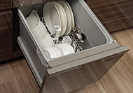 食器洗浄から乾燥まで。家事の負担を軽くしさらに省エネ効果も。