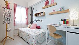各部屋の壁に下地補強あり。後からお好みで棚や手すり設置可。