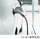 電気自動車の充電用コンセント(200V専用)を一部区画にご用意。