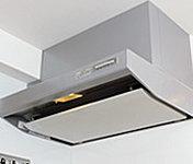 油煙を室内に漂わせることなくスムーズに排気します。※写真はA・A1・Fタイプで、他タイプは仕様が異なります。