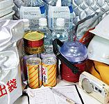 「防災倉庫」をマンション共用部に設置し、万が一の災害に備えます。