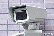 エントランスホール、エレベーター、駐車場や自転車置場等の共用部には、24時間稼動のビデオ録画付き監視カメラを設置しています。