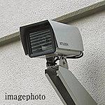 共用部には24時間稼働の監視カメラ(ビデオ録画付き)を設置。