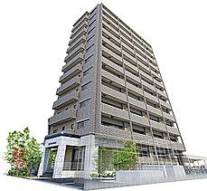 堂々かつ優雅なそのフォルムは、街の新たな顔となる。全邸南向きの設計で、角部屋率約47%の採光と通風に優れた開放感あふれるライフステージ。格調高いデザインは、住む人に誇りと心地よさを与えます。