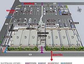 3面接道の独立性に優れた角地に創造した、心地よさを謳歌するレジデンス。南・西・北の3面が道路に開かれ、敷地全体の独立性はもとより通風・採光性にも恵まれた角地に誕生する「アルファスマート東姫路駅」。