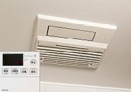 雨の日の洗濯物の乾燥に重宝。冬場には予め浴室内を温めておくことも可能です。