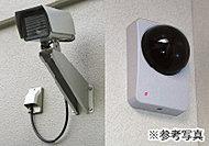 エレベーター内やエントランスホールなど、共用部には録画機能付き監視カメラを設置。