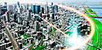現地付近の航空写真(平成26年9月撮影)