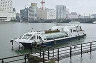 信濃川ウォーターシャトル 約500m(徒歩7分)