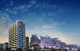豊かな未来へ向けて発展し続けるJR東海道本線「三河安城」駅前に、新しい風景を描くシンボリックな15階建のレジデンス。3面道路の開放的な敷地にゆったり計画された、周辺の緑と調和する植栽。