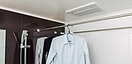 浴室暖房や衣類の乾燥に使える浴室暖房換気乾燥機。※参考写真