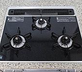 炊飯や揚げ物もボタン1つの多機能なハイパーガラスコートトップコンロ