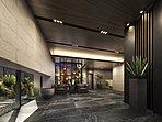 計算された多彩な光の演出が、まるでリゾートホテルのロビーを思わせるエントランスホール。家族や友人をやさしく迎え入れてくれつつも、ここから先に広がる空間の美しさを感じさせてくれる場所です。