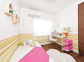 家族のスタイルに合わせて自由に使えるプライベートルーム。