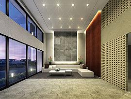心地よいひろがりと安らかな落ち着きを感じさせるエントランスホールが、住まう人や訪れる人を温かくお出迎えします。