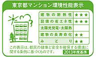 東京都の環境確保条例に基づいた評価システムでの評価を受けています。