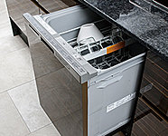 エコナビをはじめ、先進の技術と機能をフル装備した深型大容量の食器洗浄乾燥機です。