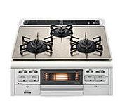 安心安全な温度センサー&消し忘れ消火機能を搭載。水無両面焼きグリル付きで料理のアイデアが広がります。