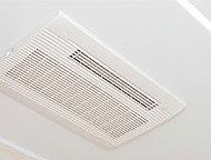 入浴後の換気や衣類の乾燥に便利。夏には涼風機能、冬には暖房機能が役に立ちます。