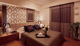 シンプルでどんな家具にも合う精錬された空間。住まう方が意のままに創るプライベートゾーン。