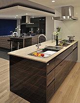 居住空間としての美しさまで、追求したキッチン。