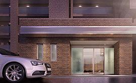 優雅な佇まいで出迎えてくれるエントランス。上質な邸宅の顔として、確かなグレードを語りかけてくるエントランスアプローチ。住まう誇りを満たし、時とともに愛着が増していく邸宅デザインの真髄がここにあります。
