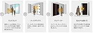 「ひとつの鍵」だけでマンションのエントランス、メールボックス、エレベーター、玄関ドアの操作がまとめて可能。
