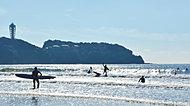 江ノ島・鵠沼海岸 約4.2km(自転車17分)