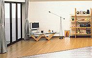 空気を汚さず、ホコリが立ちにくい、クリーンで快適なガス温水床暖房です。(リビング・ダイニングのみ)