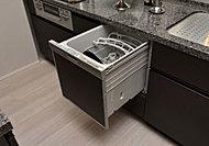 省エネ・節水効果にすぐれた食器洗浄乾燥機を標準装備。※Aタイプは除く。