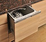 節水効果にも優れたスライド式食器洗乾燥機