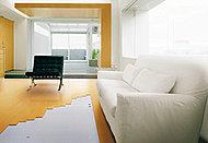 空気を汚さず、ホコリが立ちにくい、クリーンで快適なガス温水床暖房です。(LDに1パネル)