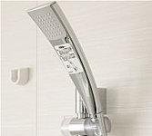 少ない水量でも勢いのあるシャワーを実現。高い節水・省エネ効果を発揮します。