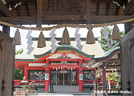 呉服神社 約460m(徒歩6分)