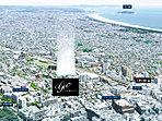 現地付近上空からの航空写真(平成27年7月撮影)※一部CG加工を施しています。