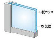 窓には高い断熱性能を誇る「ペアガラスサッシ」を採用。
