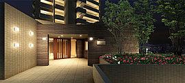 我が家へのプロローグとなるエントランスや各共用スペースは、機能的かつシックな設計としています。