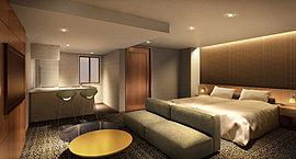 来賓をもてなす特別室、ゆったりとプライベートタイムを過ごす寛ぎのゲストルームをご用意。