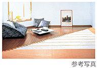 快適・健康的な暖房で人気の大阪ガス床暖房「ヌック」をリビングダイニングに採用。
