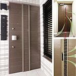 ドアを閉じたままでも通風換気が行える快適機能を装備。ツマミを上下に動かしてレジスターを開閉。全開、半開、全閉の3段階に調整可能。