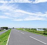 江戸川サイクリングロード 約840m(徒歩11分)