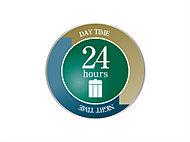 敷地内にいつでもゴミ出しできる24時間対応のゴミステーションを設置しています。※生ゴミ除く