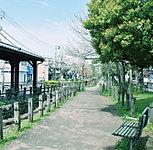 区立曳舟川親水公園 約90m(徒歩2分)