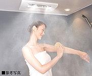 浴室暖房、浴室乾燥、衣類乾燥、涼風の機能を備えたバスルームに、ミストサウナ機能をプラス。発汗効果、血流促進、保湿効果、リラックス効果など。