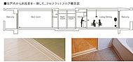 現在だけでなく、将来にわたって安心して生活していただけるようにバリアフリー(BarierFree)の考え方で住戸プランを設計しました。