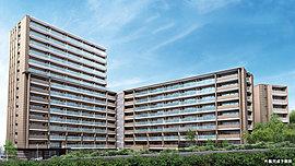 エリア最大規模※1の堂々とした存在感、全153邸の美しきレジデンス。※1.「緑地公園」駅最寄の徒歩10分以内で、2000年以降販売の新築分譲マンションの中で供給戸数が最大規模であることを指しています。
