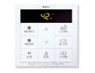 お湯張りや追い炊きなど、ボタンひとつで設定できる機能を採用しています。