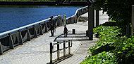 新芝運河沿緑地 約180m(徒歩3分)