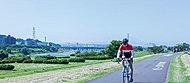 多摩川 約1,600m(自転車7分)